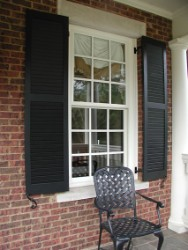 Craftsman Exterior Window Shutters